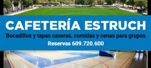 Cafeteria Estruch patrocinador del CB Prat